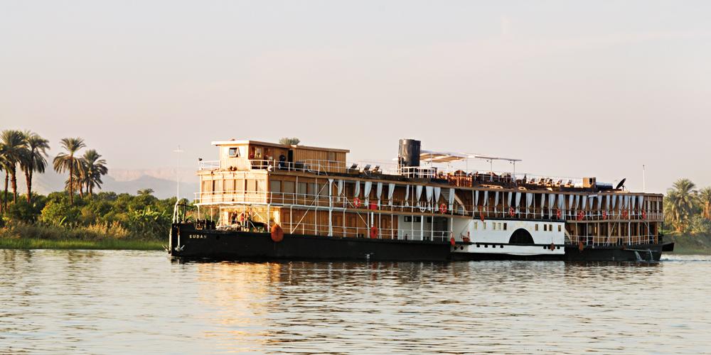 Steam Ship Sudan - Les plus belles croisieres du Nil
