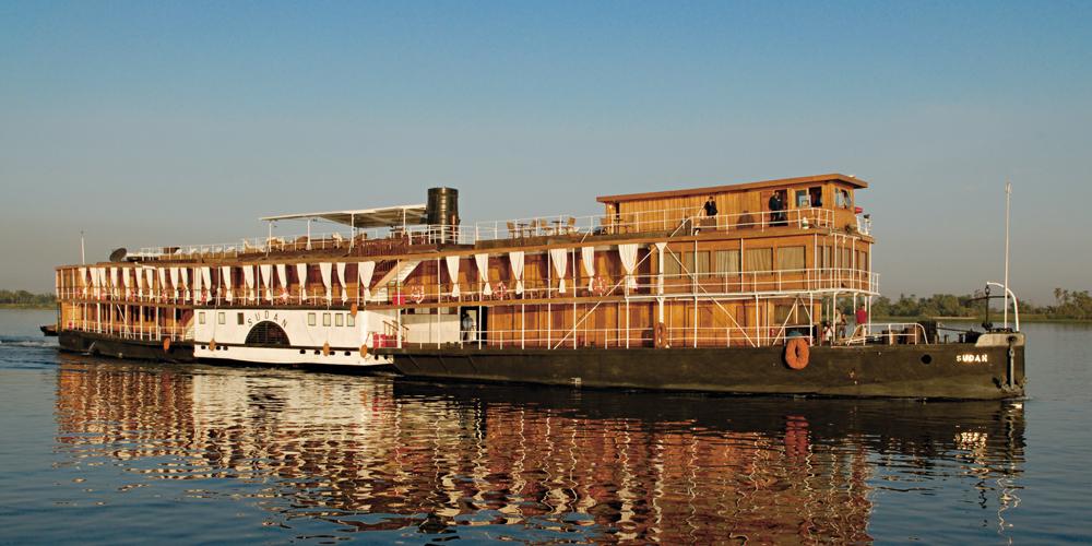 Steam Ship Sudan, croisiere sur le Nil, Egypte